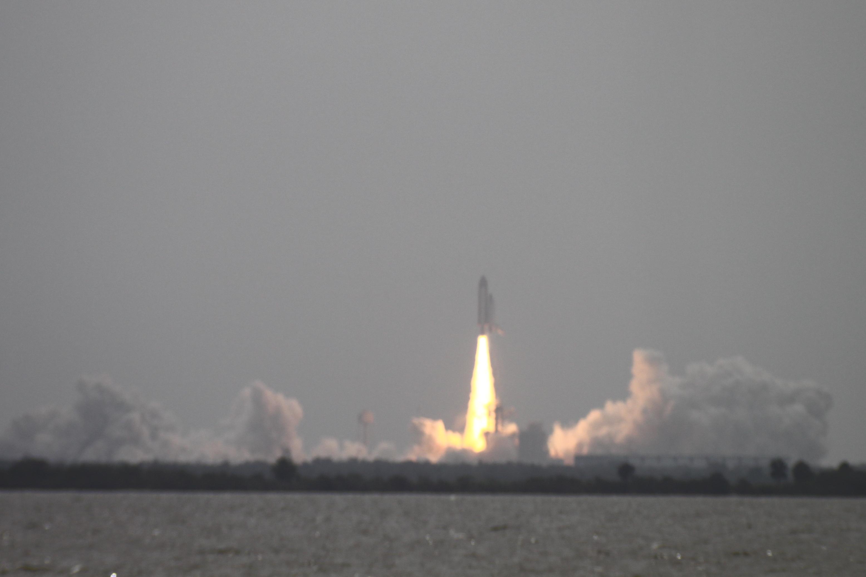 Last Shuttle launch.