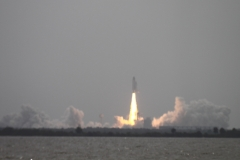 Last Shuttle launch.